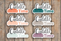 35 Cuddle Time, Family Time, Night In, Date Night, Couch Time, Love Planner Stickers for 2018 inkWELL Press Planners IWP-Q185