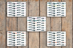 24 Gun, Rifle, AR-15, Assault Rifle, Machine Gun, Weapon, Firearm, Military Icon Planner Stickers for 2018 inkWELL Press Planners IWP-Q200
