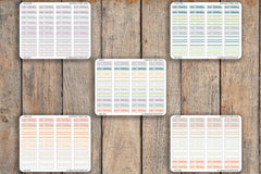 40 Short Early Dismissal, Short School Day Planner Stickers for 2018 inkWELL Press Planners IWP-Q254