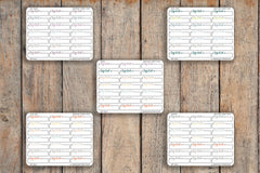21 Important, Don't Forget Box, Dash Box Icon Planner Stickers for 2018 inkWELL Press Planners IWP-Q243