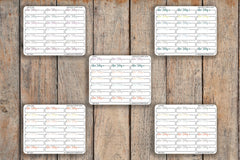 21 Due Today Box, Bills, Important, Dash Box Icon Planner Stickers for 2018 inkWELL Press Planners IWP-Q247