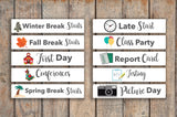 School Events Sampler Month View Stickers  FQ4