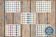 35 Instant Pot, Crock Pot,  Meal Plan Icon Stickers for 2019 inkWELL Press Planners IWP-T171