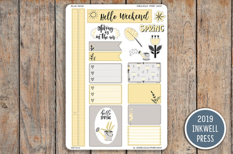 Spring Themed Kit for 2019 inkWELL Press Planners IWP-G43
