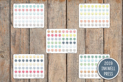 Karate Gi Icon Planner Stickers for 2019 inkWELL Press Planners IWP-T204