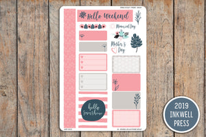 May Flowers Kit for 2019 inkWELL Press Planners IWP-G58