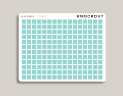 SMALL Square Checkbox Planner Stickers | Mildliner Collection Z-MQ2