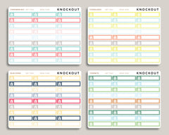 Rent Bill Planner Stickers for 2019 inkWELL Press Planners IWP-T263