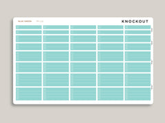 Mildliner Solid Time Block Checklist Sampler for Passion Planner PP-L15