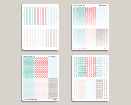 Flex Divider Washi Sticker Bundle IWP-B2