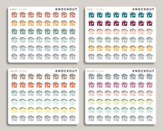 Home Icon Stickers for 2020 inkWELL Press Planners IWP-RM61