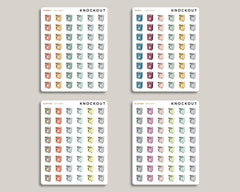 Washing Machine Icon Planner Stickers for 2020 inkWELL Press Planners IWP-RM49
