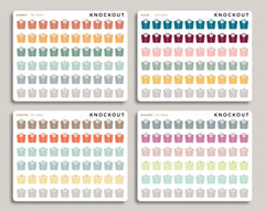 Scale Icon Planner Stickers for 2020 inkWELL Press Planners IWP-RM10