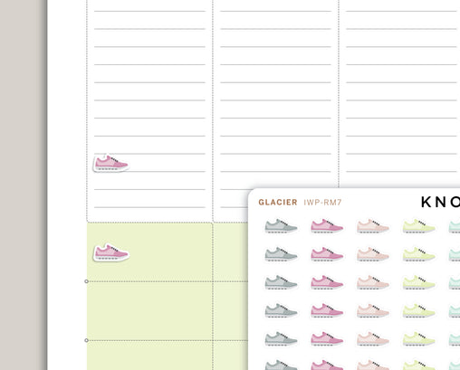 Shoe Icon Planner Stickers for 2020 inkWELL Press IWP-RM7