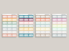Online Order Tracker Stickers for 2020 inkWELL Press Planners IWP-RL37