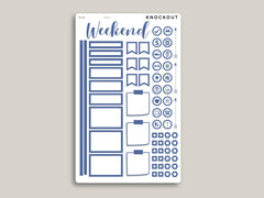 Outline CLASSIC Functional Planner Stickers Sampler for MakseLife Planner MH62