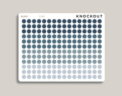 Professional Solid Circle/Dot Planner Stickers PCM9