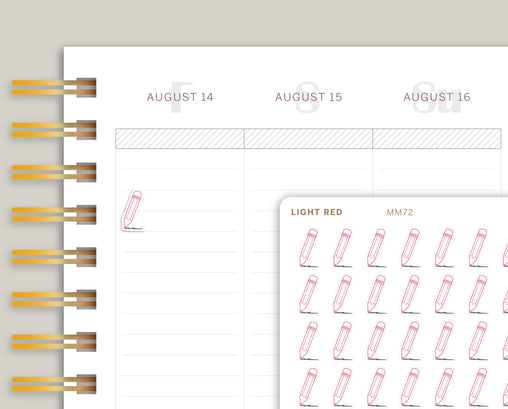 Pencil Icon Planner Stickers for Makse Life Planner MM72
