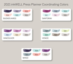 Pencil Icon Planner Stickers for 2021 inkWELL Press Planners IWP-N8