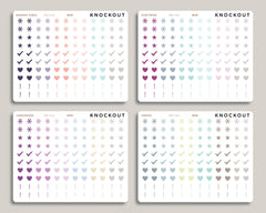 Bullet Journal Icon Sampler Planner Stickers for 2021 inkWELL Press IWP-N14