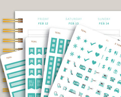 Vertical Functional Sampler Kit for 2021 MakseLife Planner R1