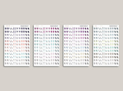 Cleaning/Chore Sampler Icon Planner Stickers for 2021 inkWELL Press IWP-N61 / IWP-N27