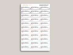 Birthday Label Planner Stickers for 2021 inkWELL Press Planners IWP-W36