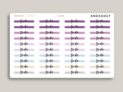 CLASSIC Highlight Header Stickers for 2021 inkWELL Press Planners IWP-W30