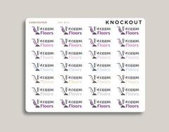 Vacuum Floors Icon Stickers for 2021 inkWELL Press Planners IWP-N73