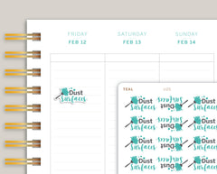 Dust Surfaces Planner Stickers for MakseLife Planner U25