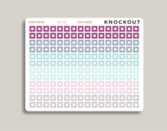 Mini Checkbox Square Stickers for 2021 inkWELL Press Planners IWP-N3