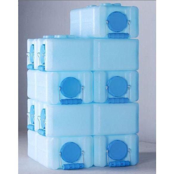 10 Pack WaterBrick Standard 3.5 Gallon - Blue - Readiness Deals Inc