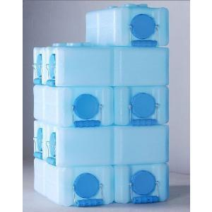 32 Pack WaterBrick Standard 3.5 Gallon-Blue - Readiness Deals Inc