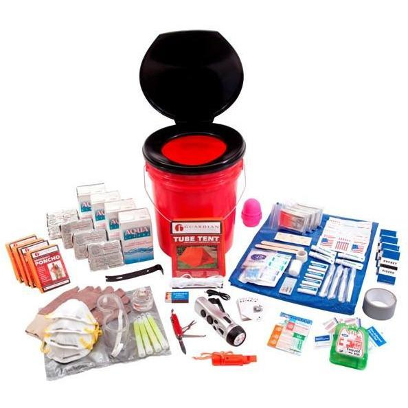 4 Person Guardian Bucket Survival Kit - Readiness Deals Inc