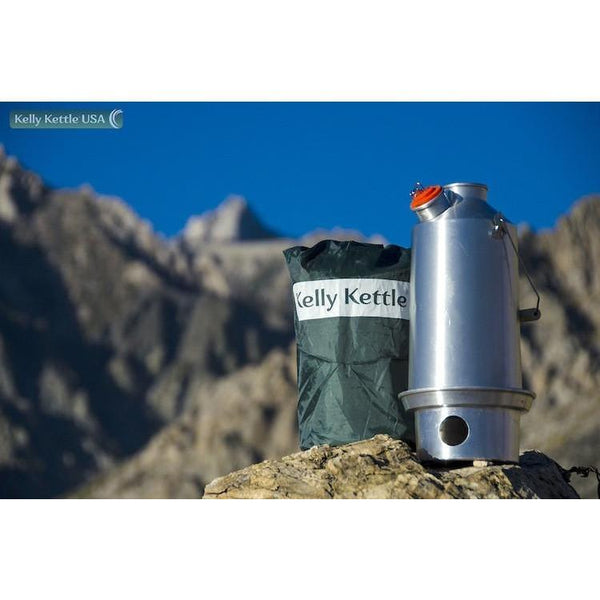 Aluminum-Large-Kelly Kettle-Complete Kit - Readiness Deals Inc
