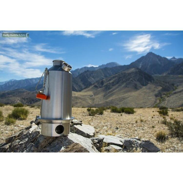 Aluminum Small Trekker Kelly Kettle - Complete Kit - Readiness Deals Inc