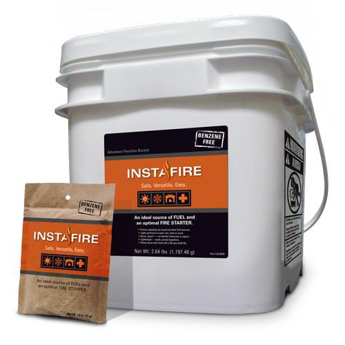 Insta Fire Pouch Bucket - 60 Pouch - Readiness Deals Inc