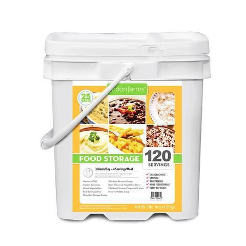 Lindon Farms 15 Day Emergency Food Supply Kit - 120 Servings - Free Shipping - Readiness Deals Inc