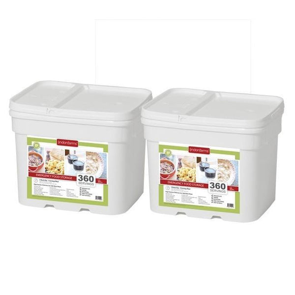 Lindon Farms 720 Servings (2 Months) Emergency Food Storage Kit - FREE SHIPPING - Readiness Deals Inc