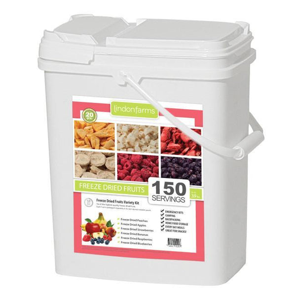 Lindon Farms Freeze Dried Fruit Mix Food Storage - 150 Servings - Readiness Deals Inc