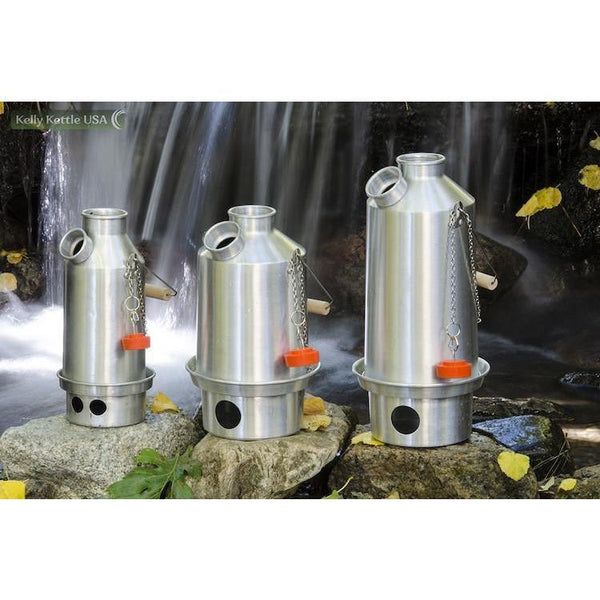Stainless Steel-Large Kelly Kettle - Complete Kit - Readiness Deals Inc