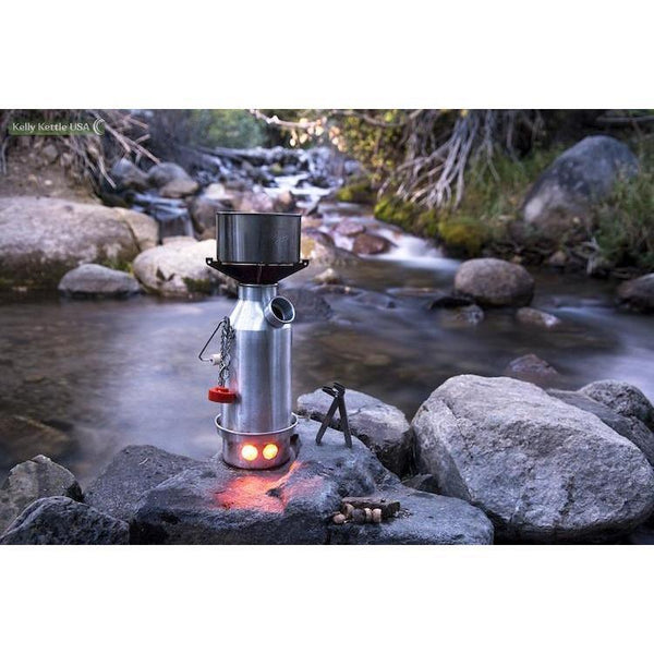 Trekker-Small Kettle (Stainless Steel) - Readiness Deals Inc