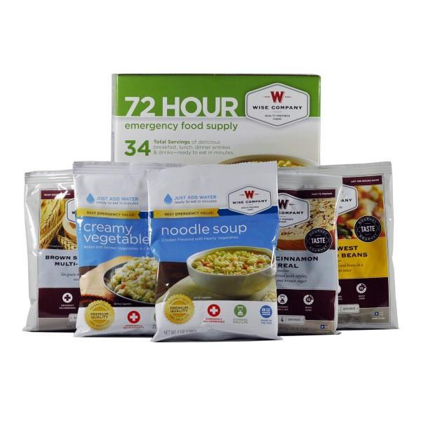 Wise Food 72 Hour Emergency Meal Kit - Readiness Deals Inc