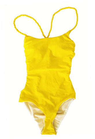 YELLOW KIHEI SWIMWEAR