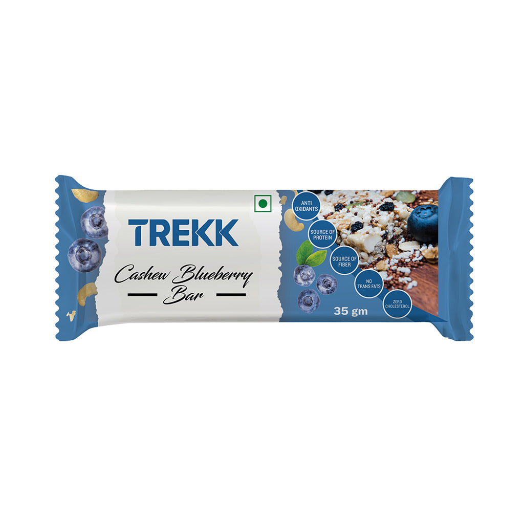 TREKK Cashew Blueberry Granola Bar 35g x 12Pc