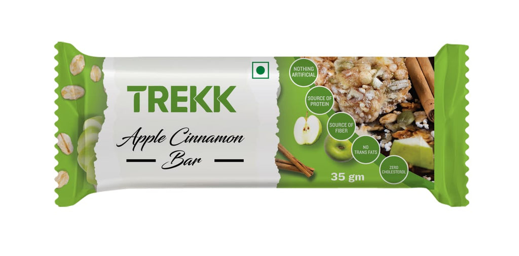 TREKK Apple Cinnamon Granola Bar 35g x 12Pc
