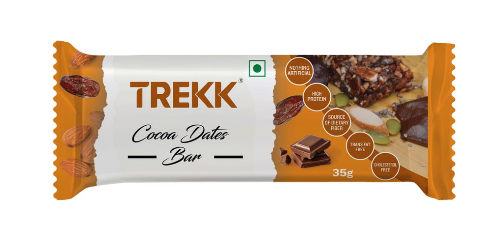 TREKK Cocoa Dates Granola Bar 35g x 12Pc