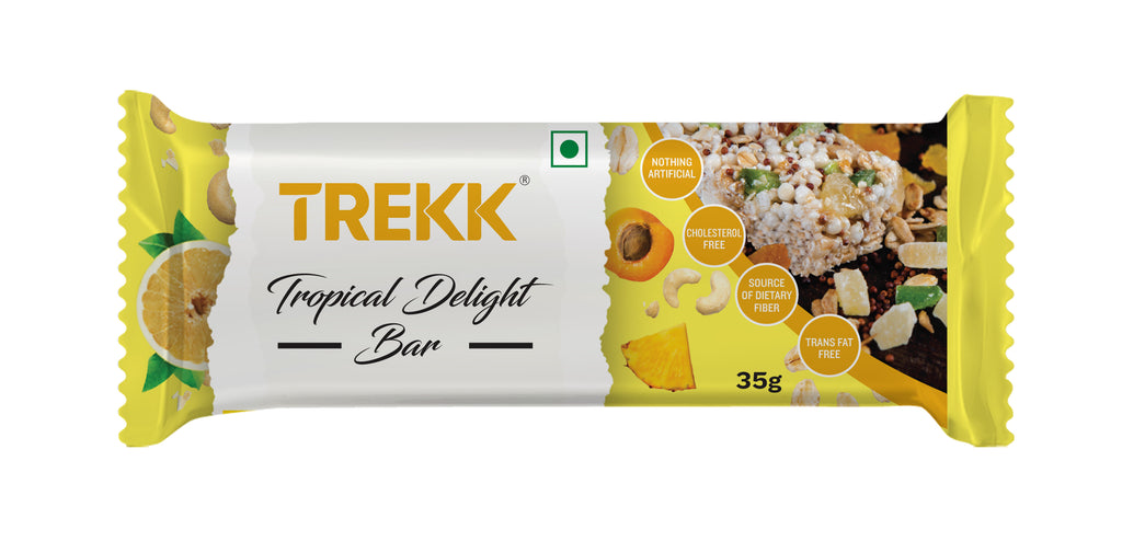 TREKK Tropical Delight Granola Bar 35g x 6pc
