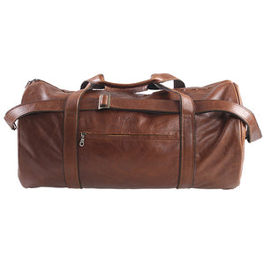 Round Travel Duffel - kingkong-leather