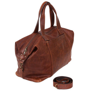 Weekend traveller Overnight leather bag